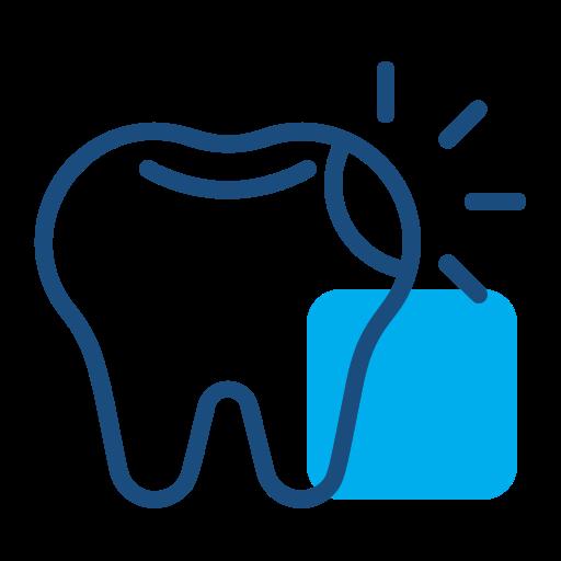 Dental cavity icon