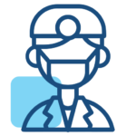 Dental worker icon
